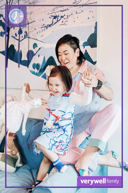 Aya Kanai and daughter Rei