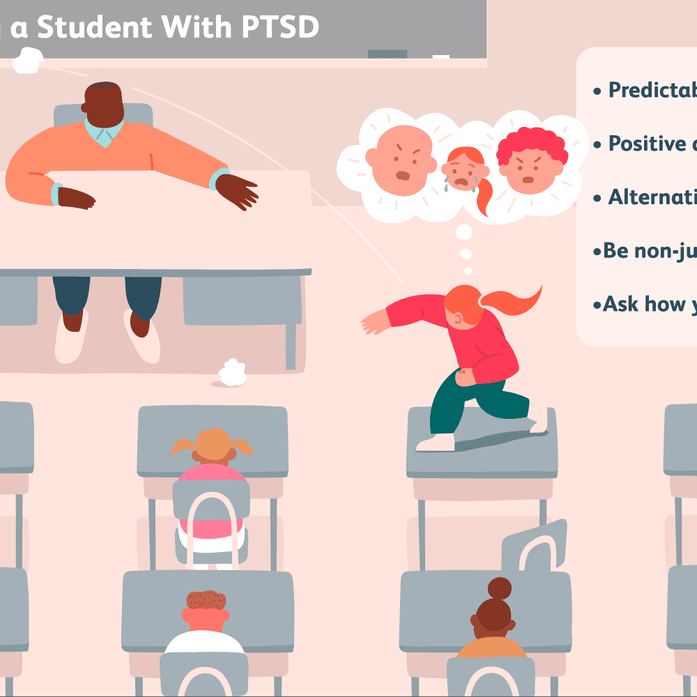 School Strategies for Students Experiencing PTSD or Trauma