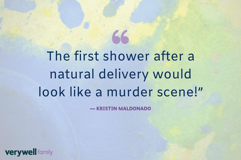 Verywell Family postpartum quote by Kristin Maldonado