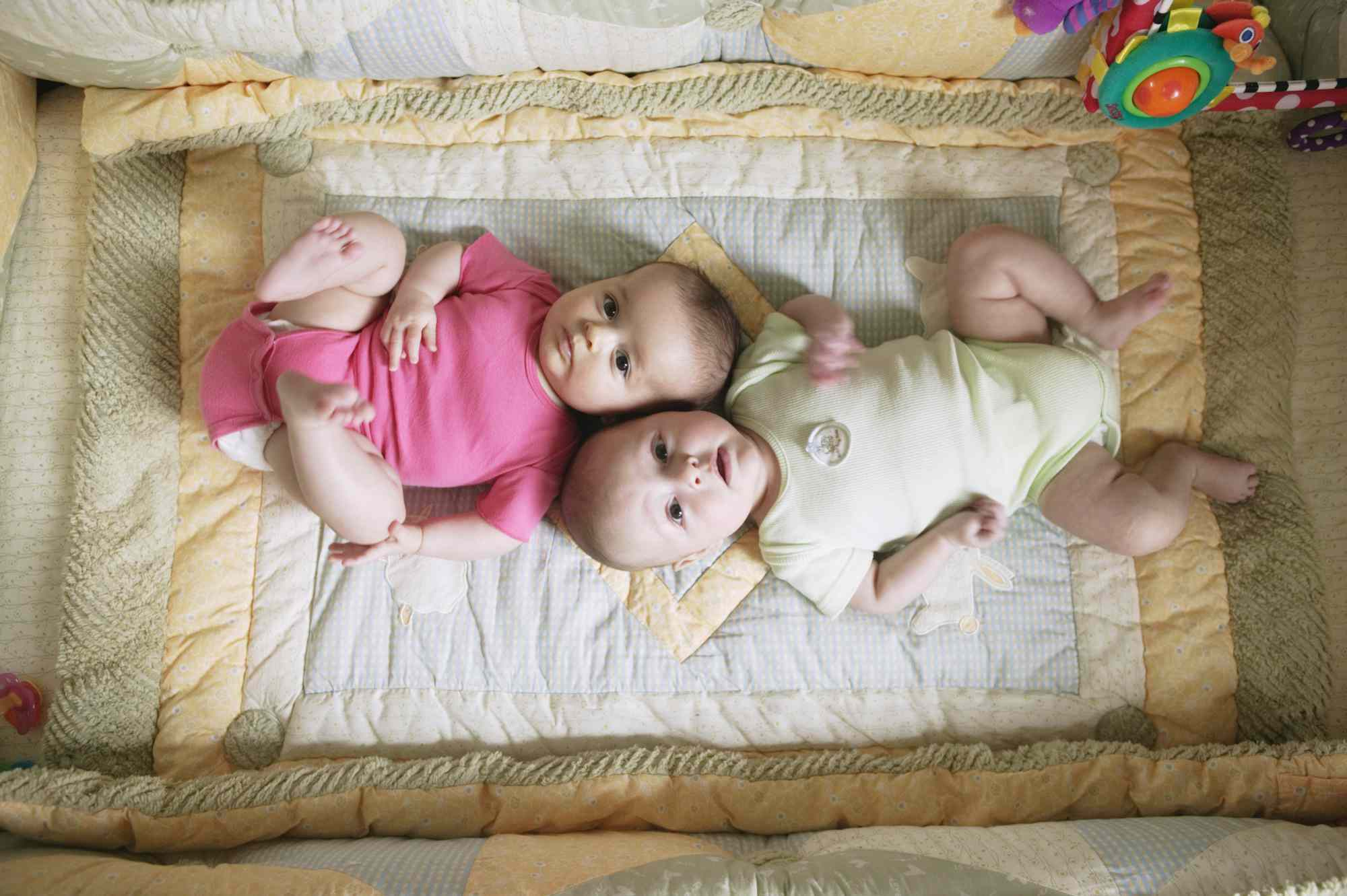 Tips For Getting More Sleep With Baby Twins