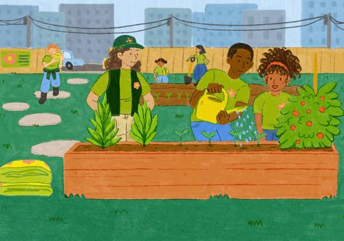 community based diversion program illustration
