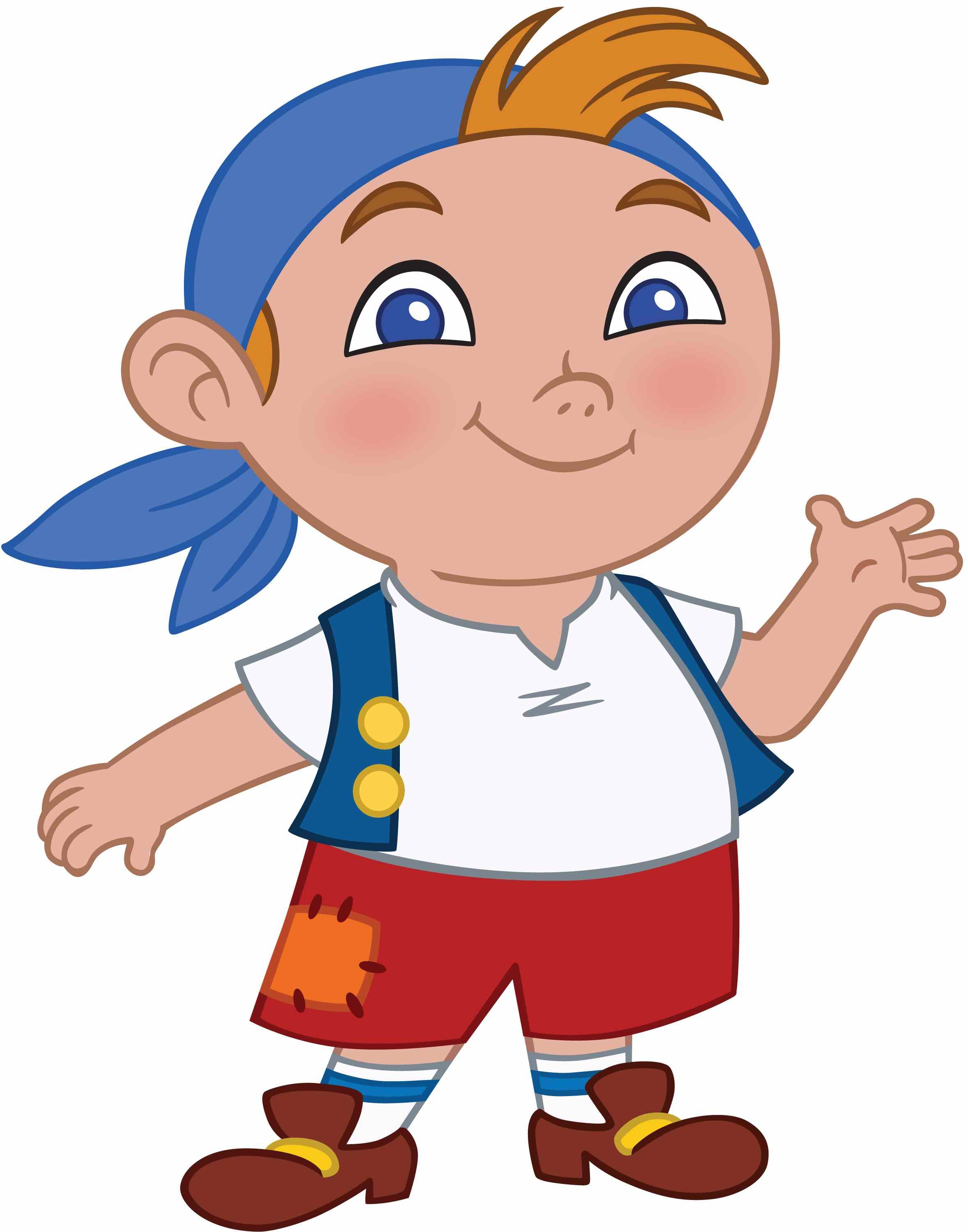 Cubby from Jake and the Never Land Pirates