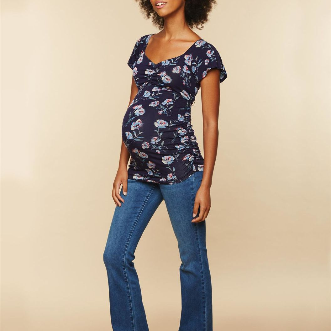 abc2e9e6db230 Best Bootcut: Secret Fit Belly Stretch Bootcut Maternity Jeans