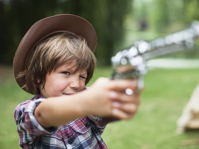 Talk to kids about guns and gun safety issues.