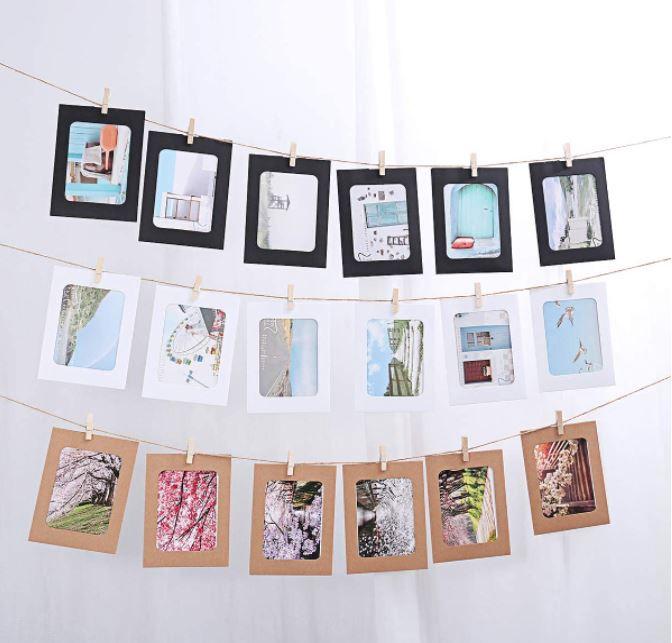 Vorcool Kraft Paper Photo Frames