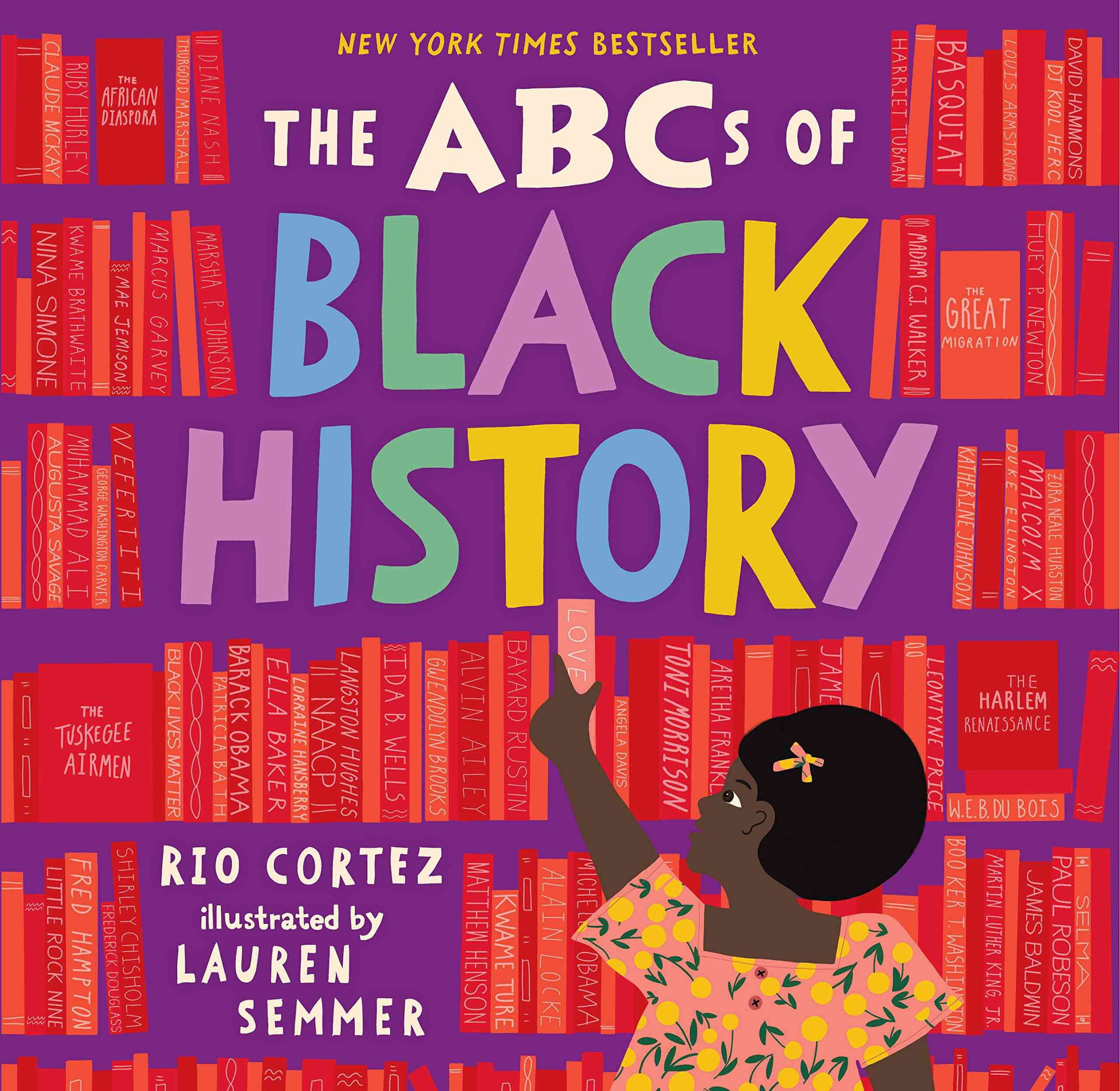 ABCs of Black History by Rio Cortez
