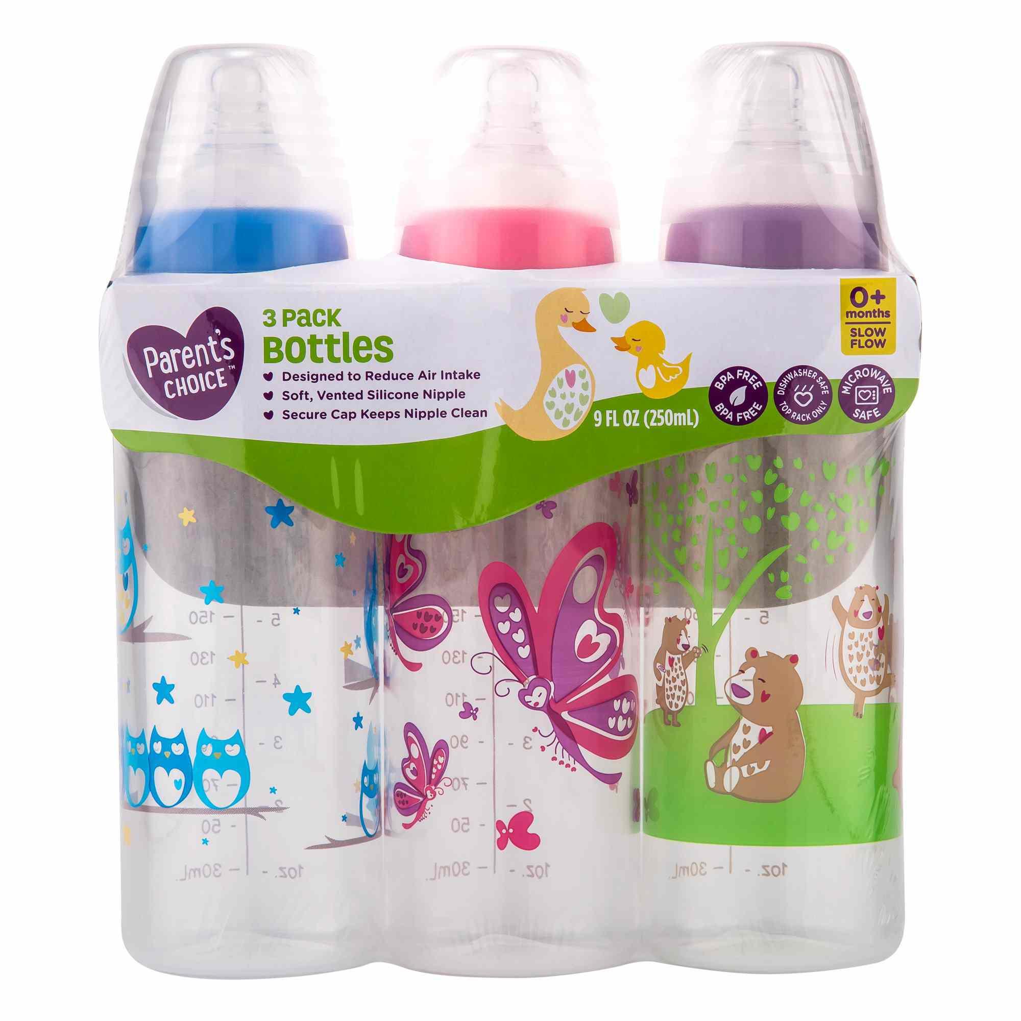 Parent's Choice Slow Flow Bottles