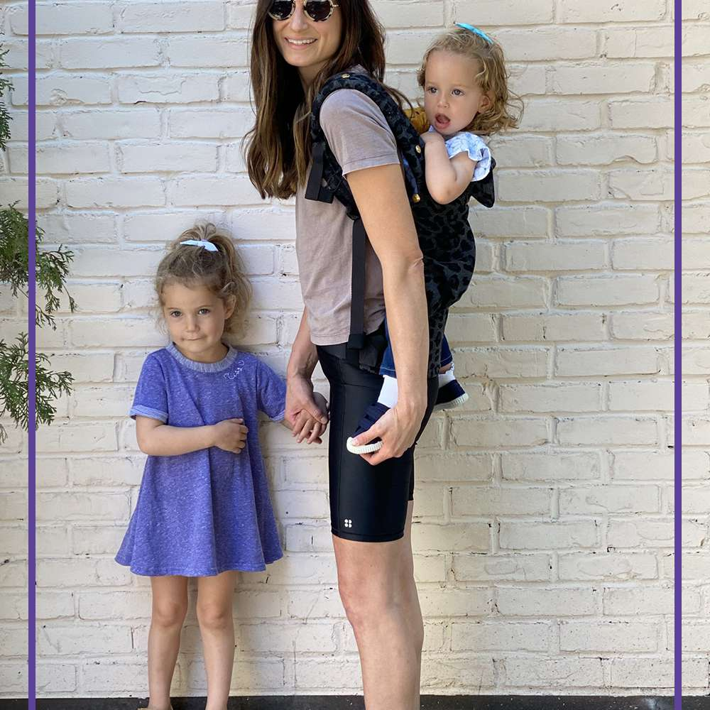 Jennie Monness and her daughters