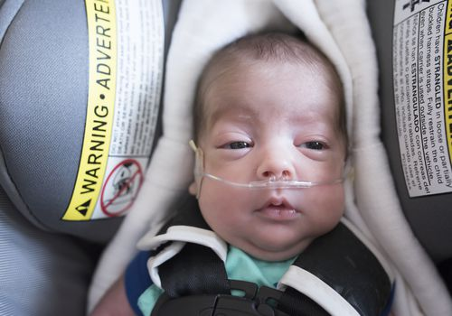 Premature Baby Comes Home on Oxygen