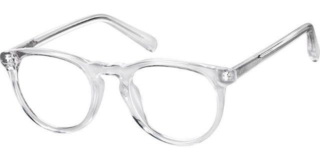 Zenni Optical Translucent Kids' Round Glasses