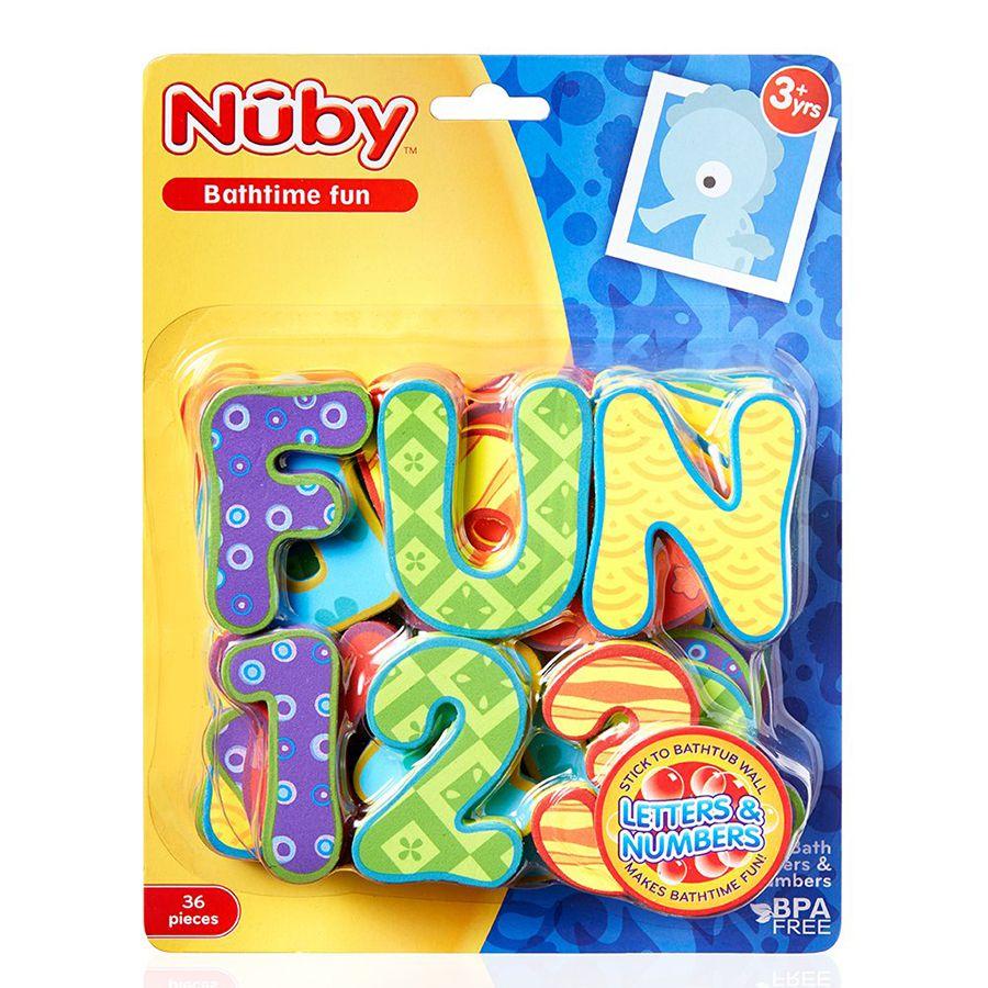Nuby Bath Tub Alphabet Set