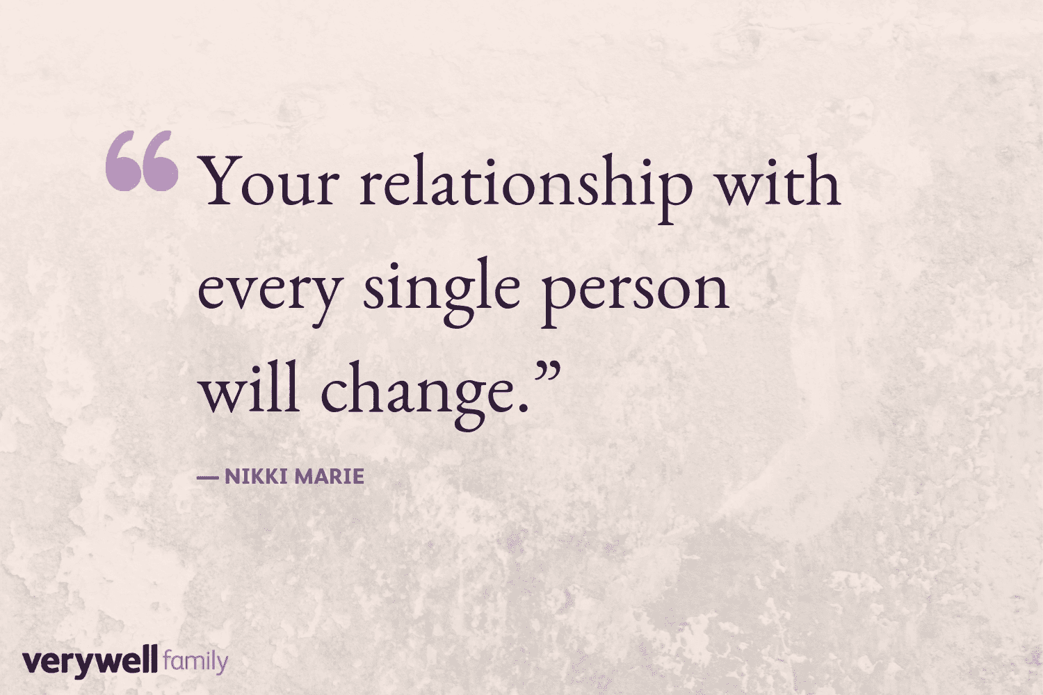 Verywell Family postpartum quote by Nikki Marie