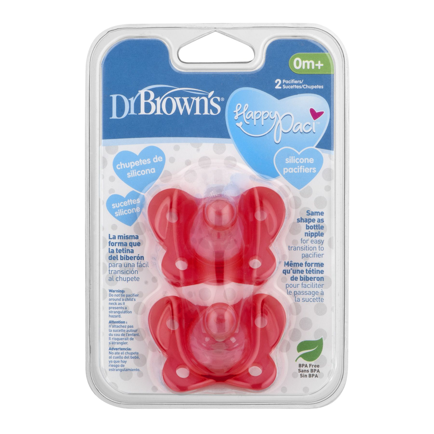 Baby Soothers Pacifiers Dummies Silicone BPA Free Microwavable Cute Gift 2 Packs
