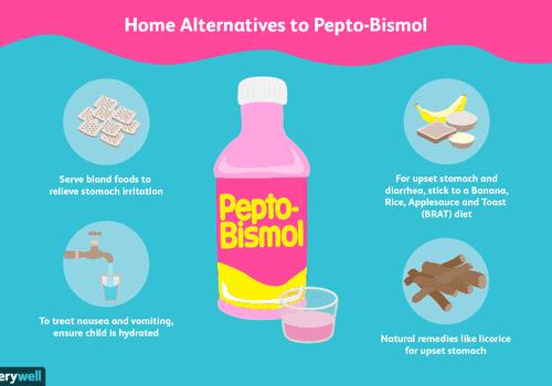 Home alternatives to pepto-bismol
