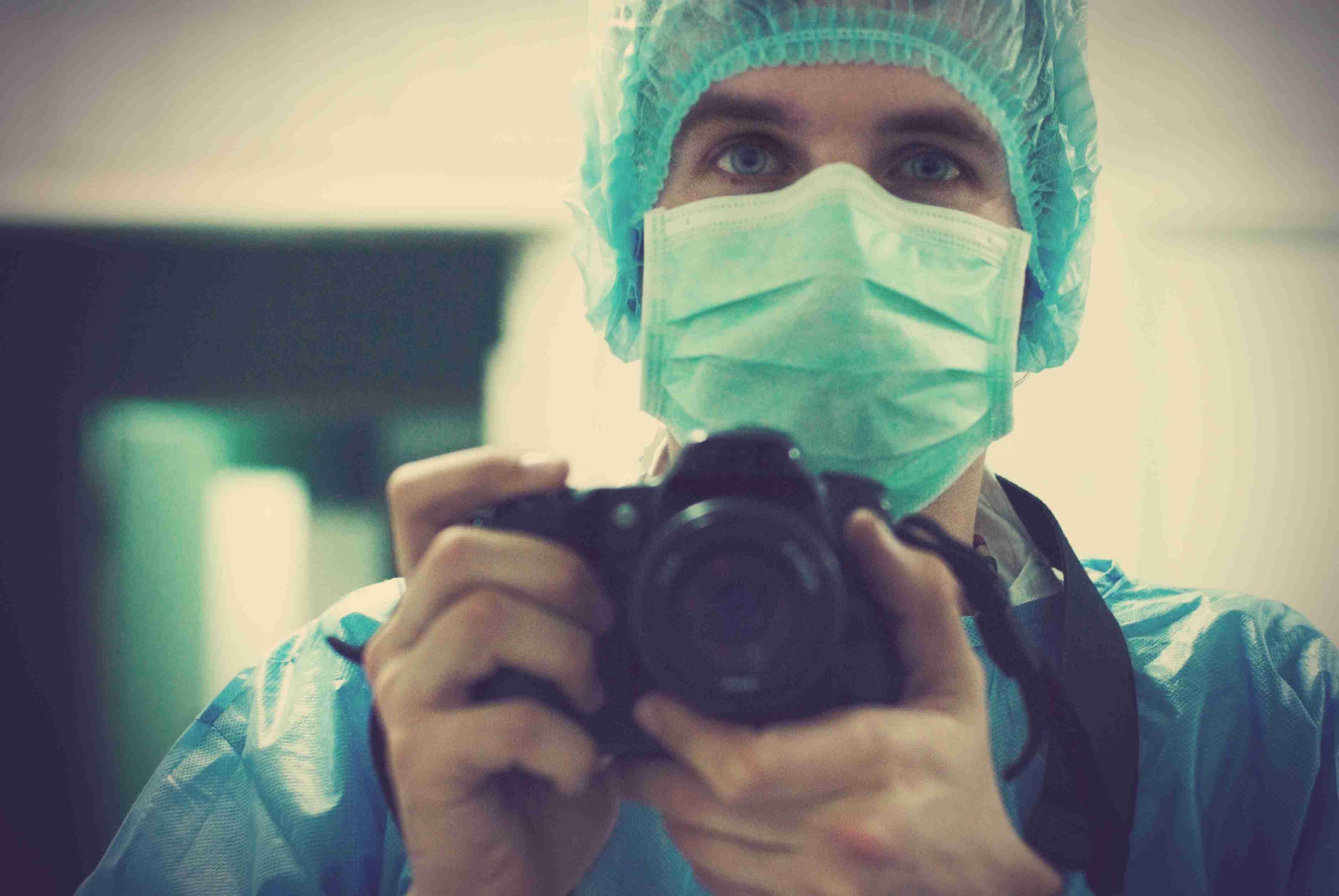 Medizinischer Fotograf