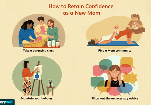 how to retain new mom confidence