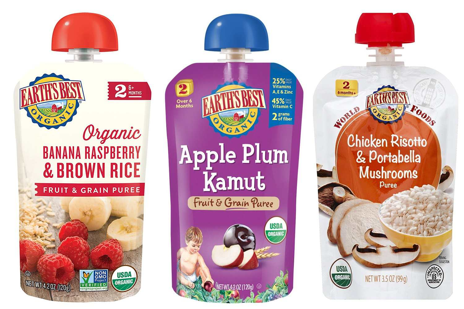 The 8 Best Organic Baby Food Brands Of 2019