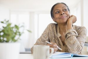 grandmother writing an ethical will