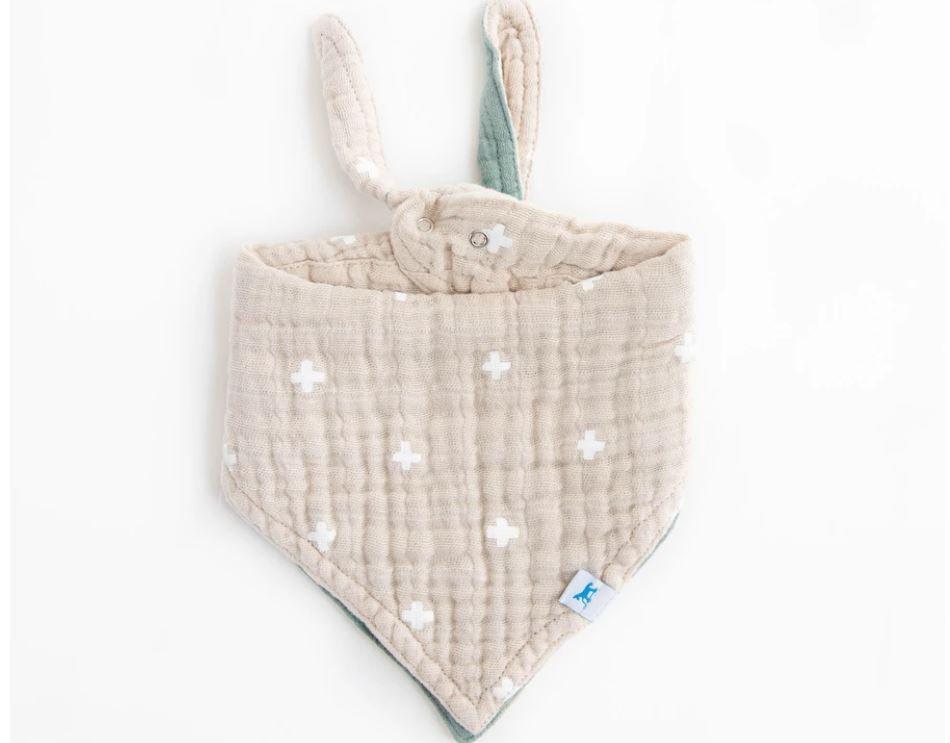 Little Unicorn Cotton Bandana Bibs