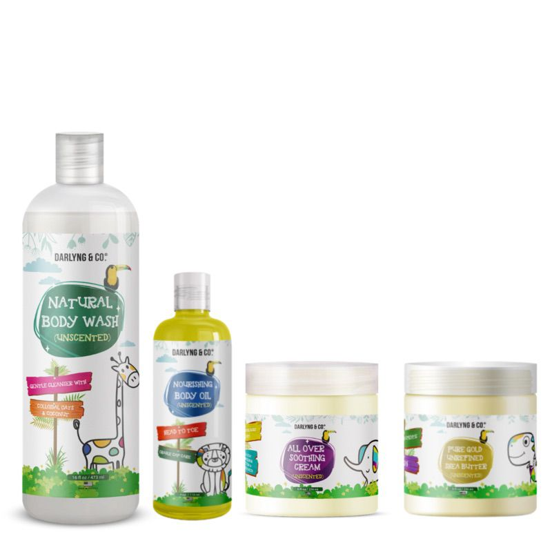 Darlyng and Co Unscented Skincare Gift Bundle