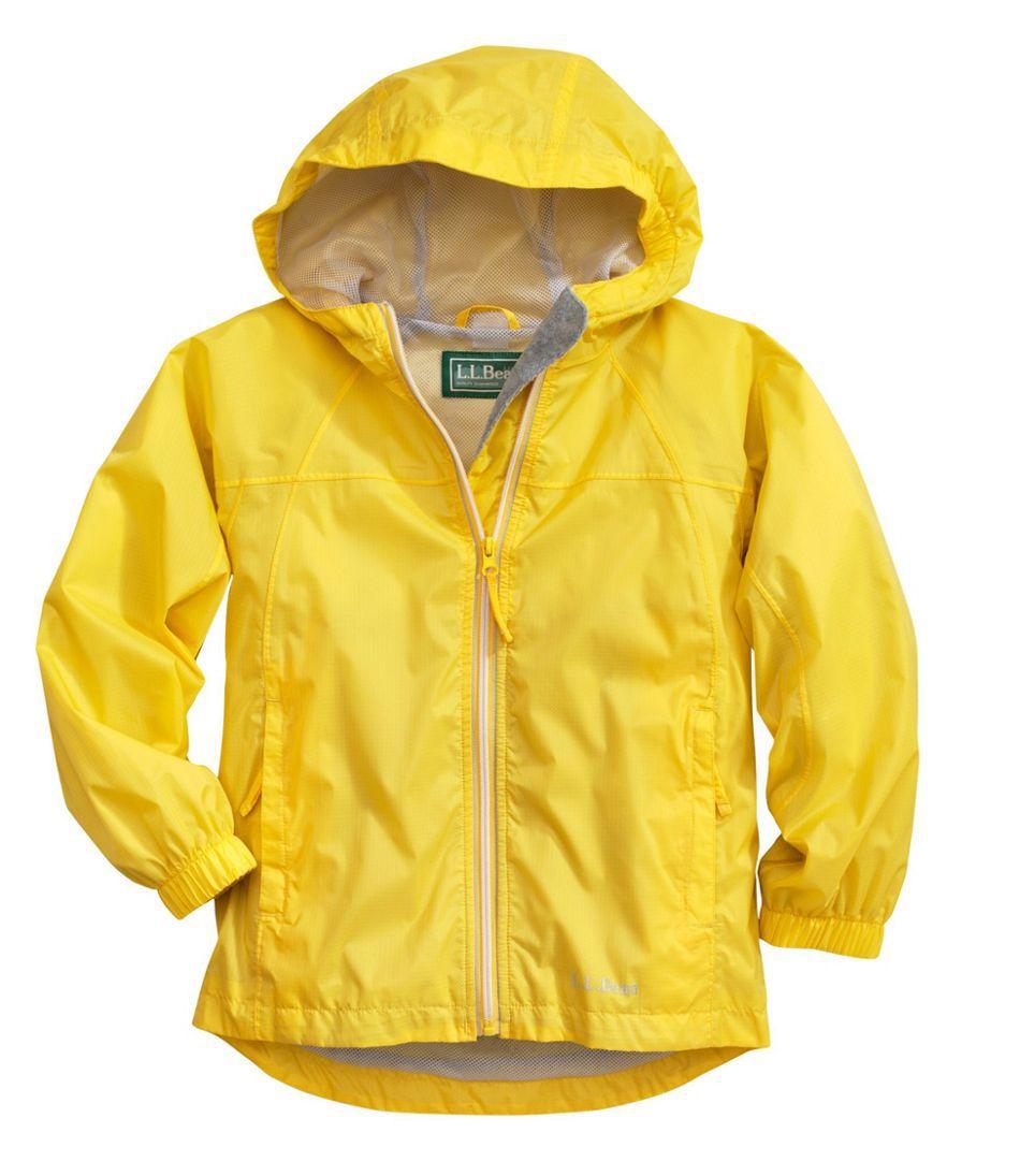 L.L.Bean Kids' Discovery Rain Jacket