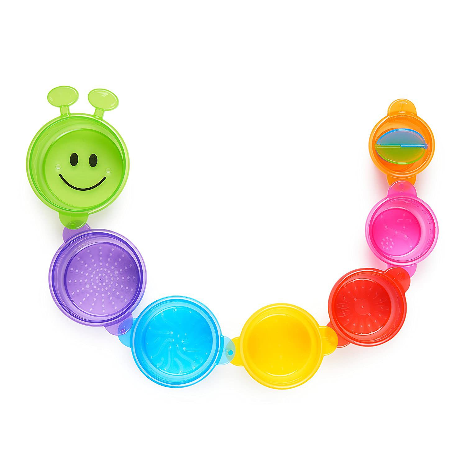 Munchkin Caterpillar Spillers Stacking and Straining Cups