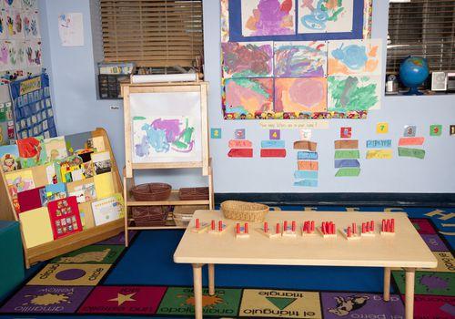 print rich preschool classroom