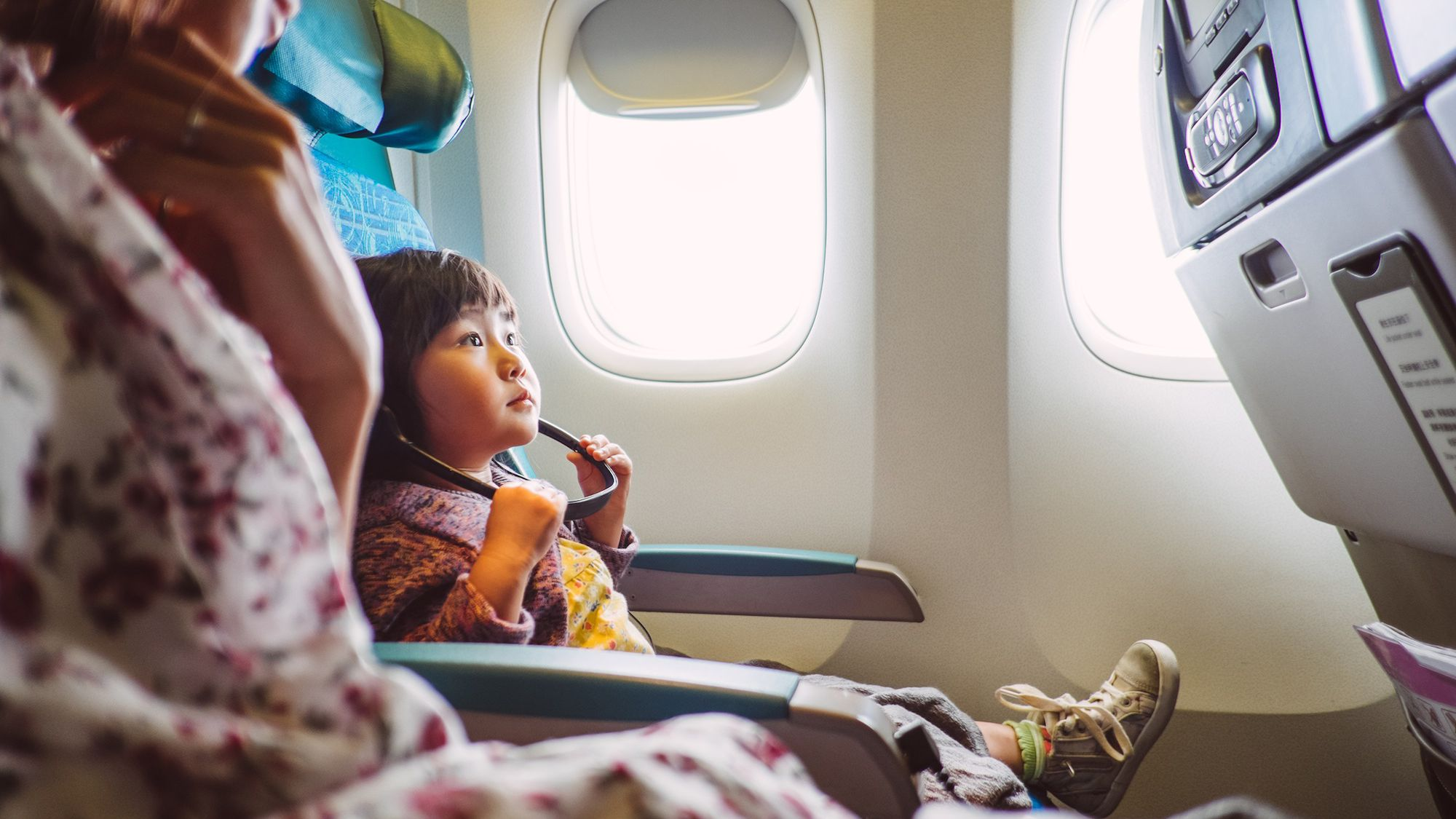 Using Benadryl When Flying With Kids