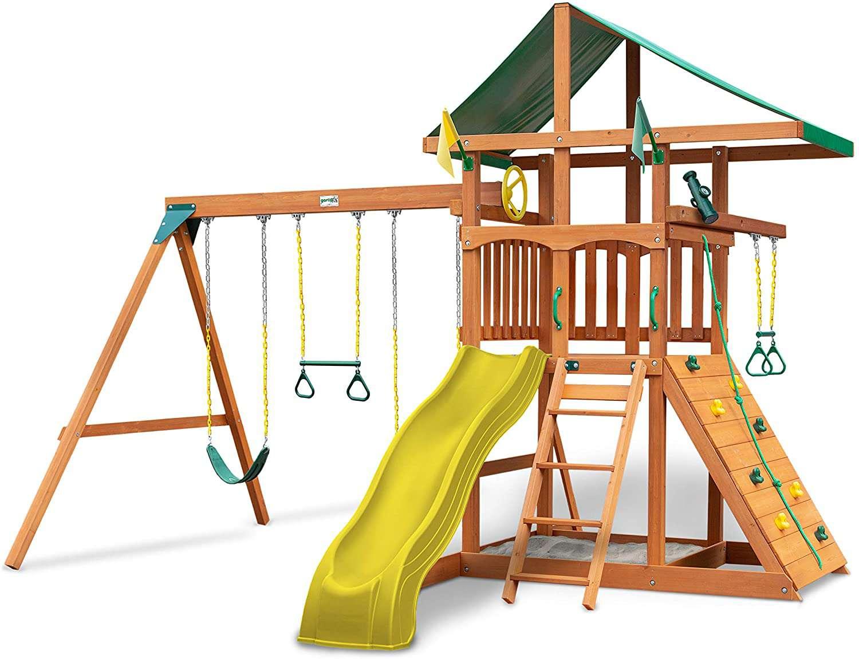 Gorilla Playsets Outing Wood Swing Set