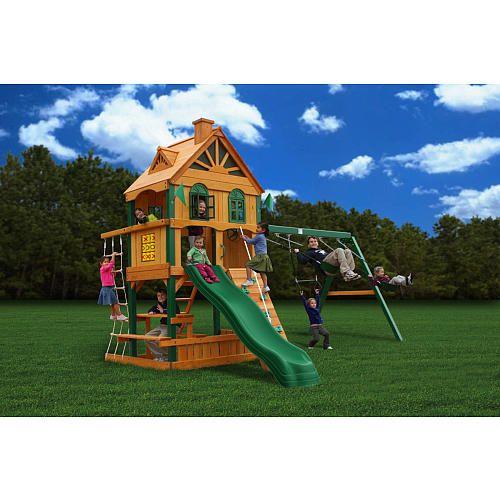 Great Backyard Swing Sets For Kids