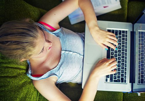 There are pros and cons to teens using Tumblr.