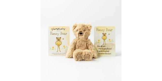Slumberkins Honey Bear Snuggler & Book