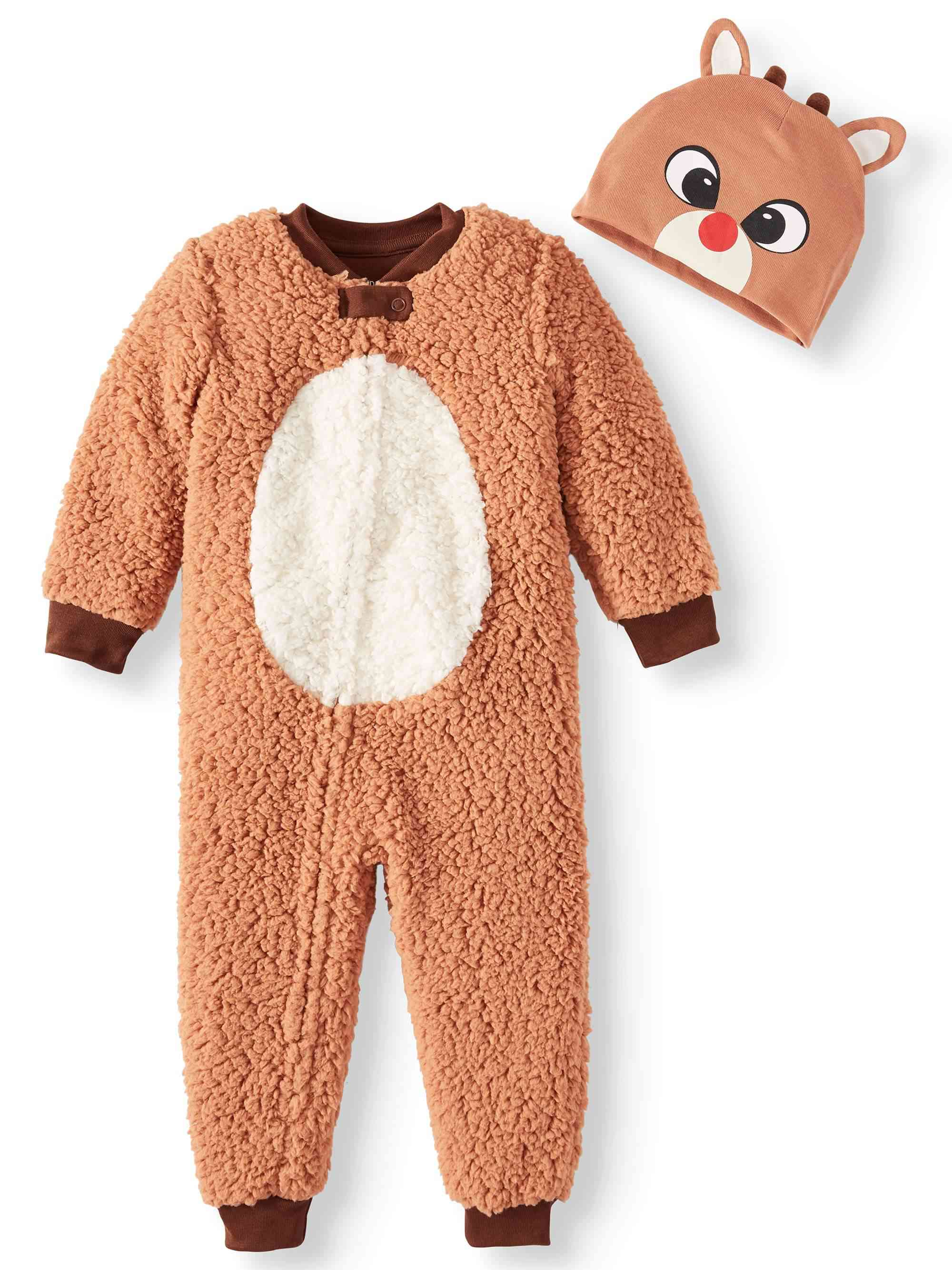 Rudolph Union Suit with Beanie
