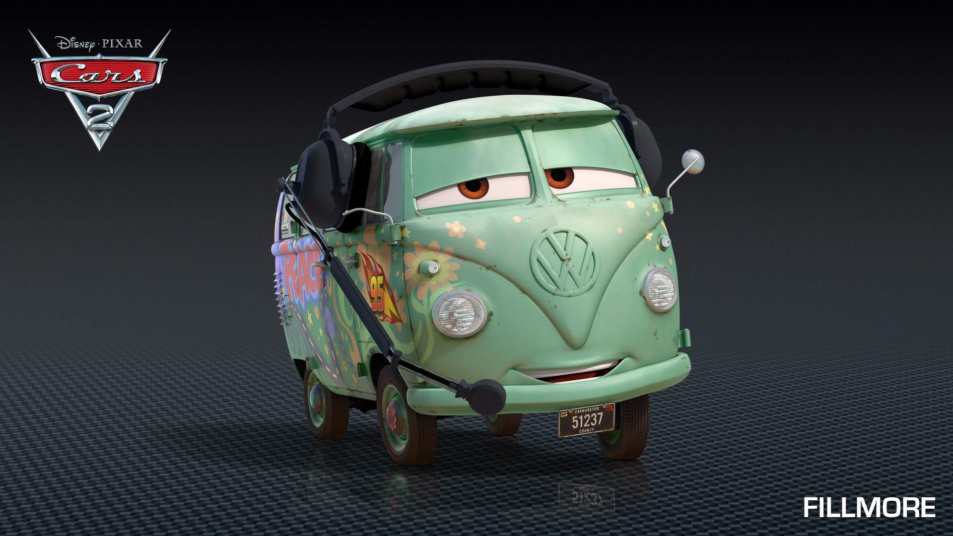 Fillmore A Character In Cars 2 Is Voiced By Lloyd Sherr