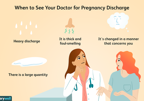 When to see your doctor for pregnancy discharge