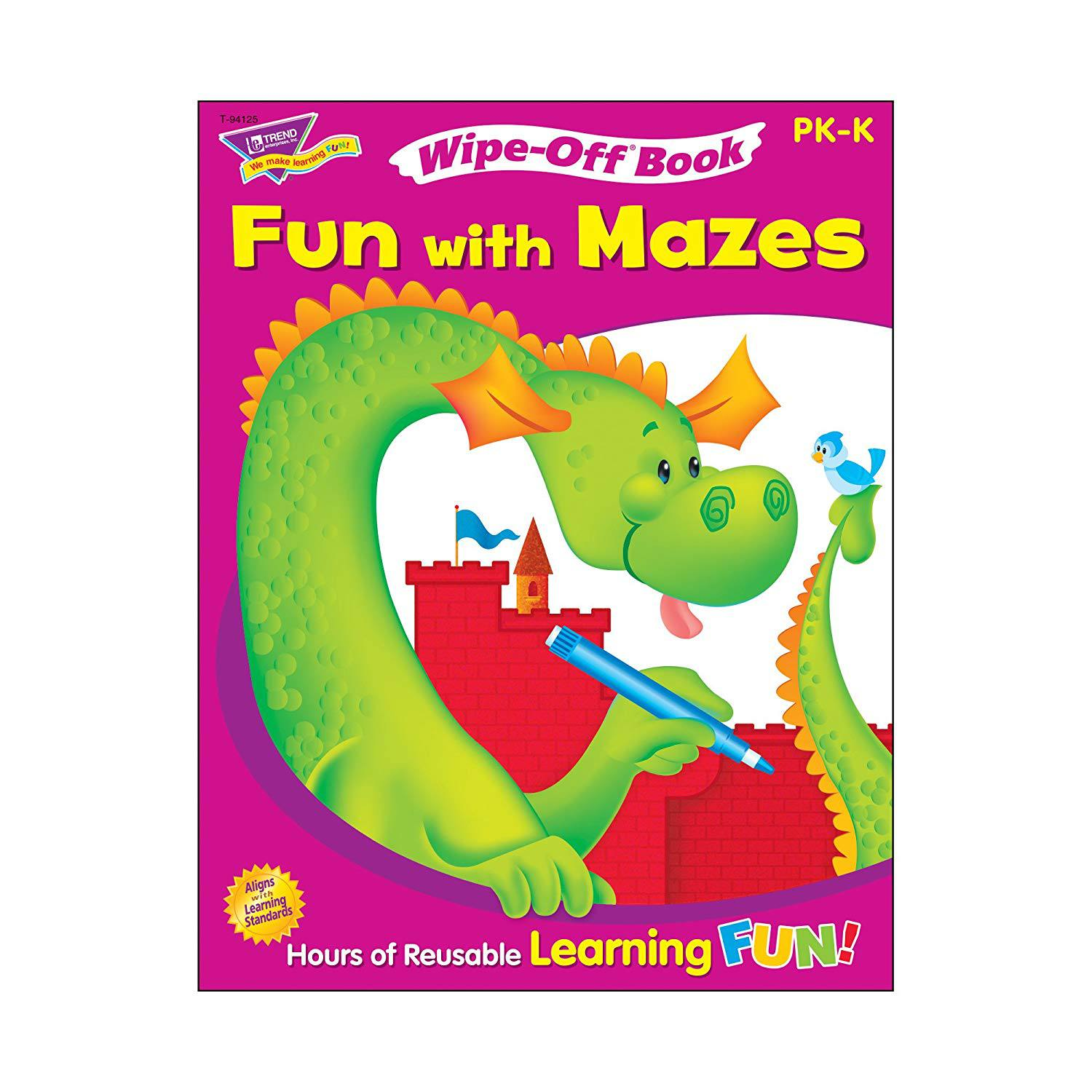 Fun With Mazes Wipe-Off Book