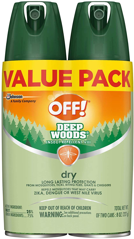 OFF! Deep Woods Bug Spray & Mosquito Repellent