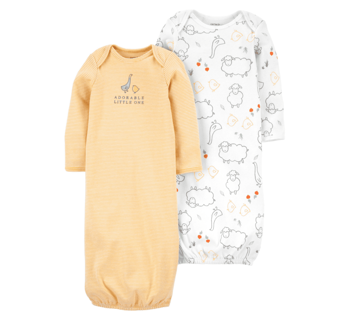 Carter's Two Pack Infant Sleeper Gowns
