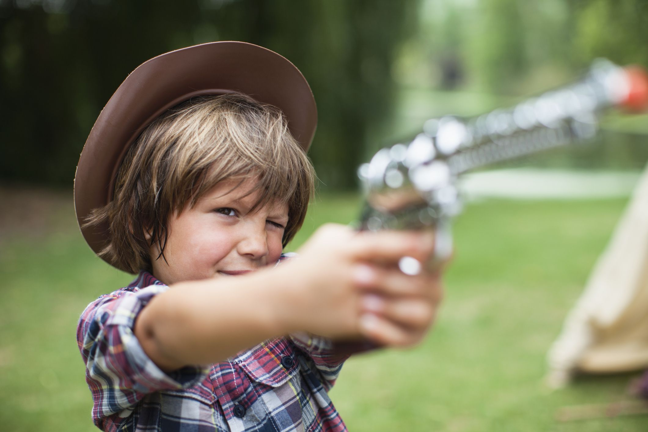 How to Talk to Kids About Guns Through the Ages