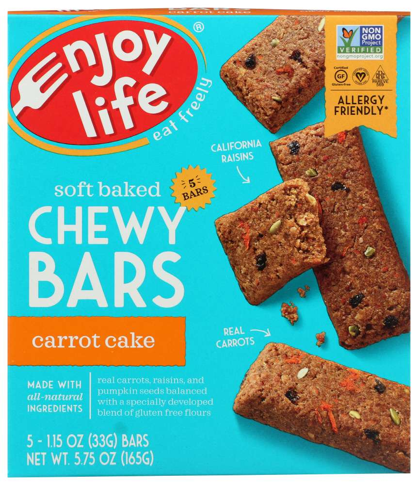 Enjoy Life Carrot Cake Baked Chewy Bars