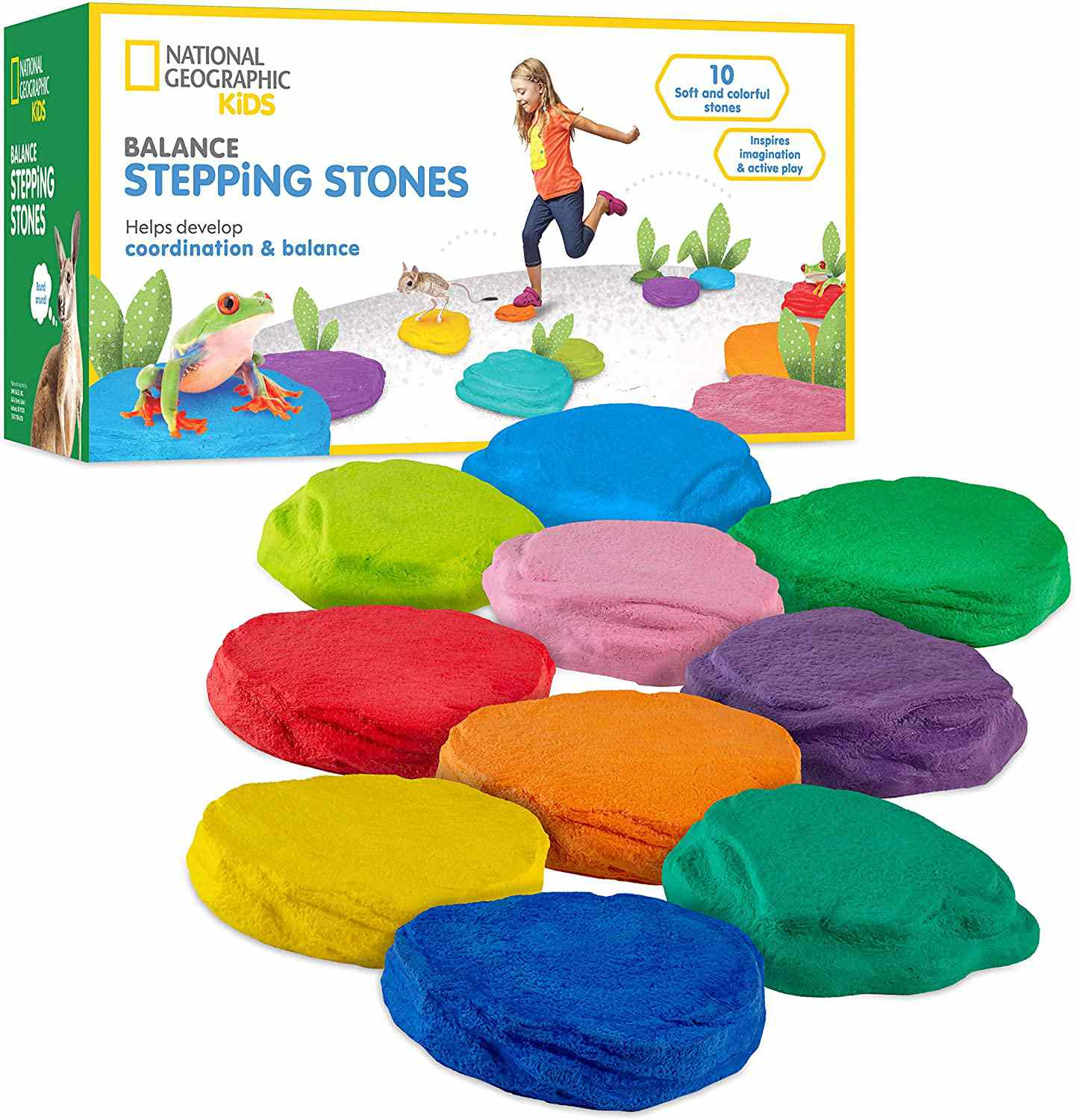 National Geographic Balance Stepping Stones