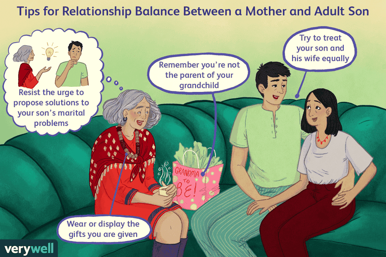 Relationship balance between mother and son