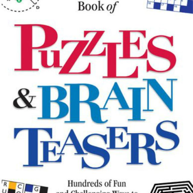 Reader's Digest Book of Puzzles & Brain Teasers