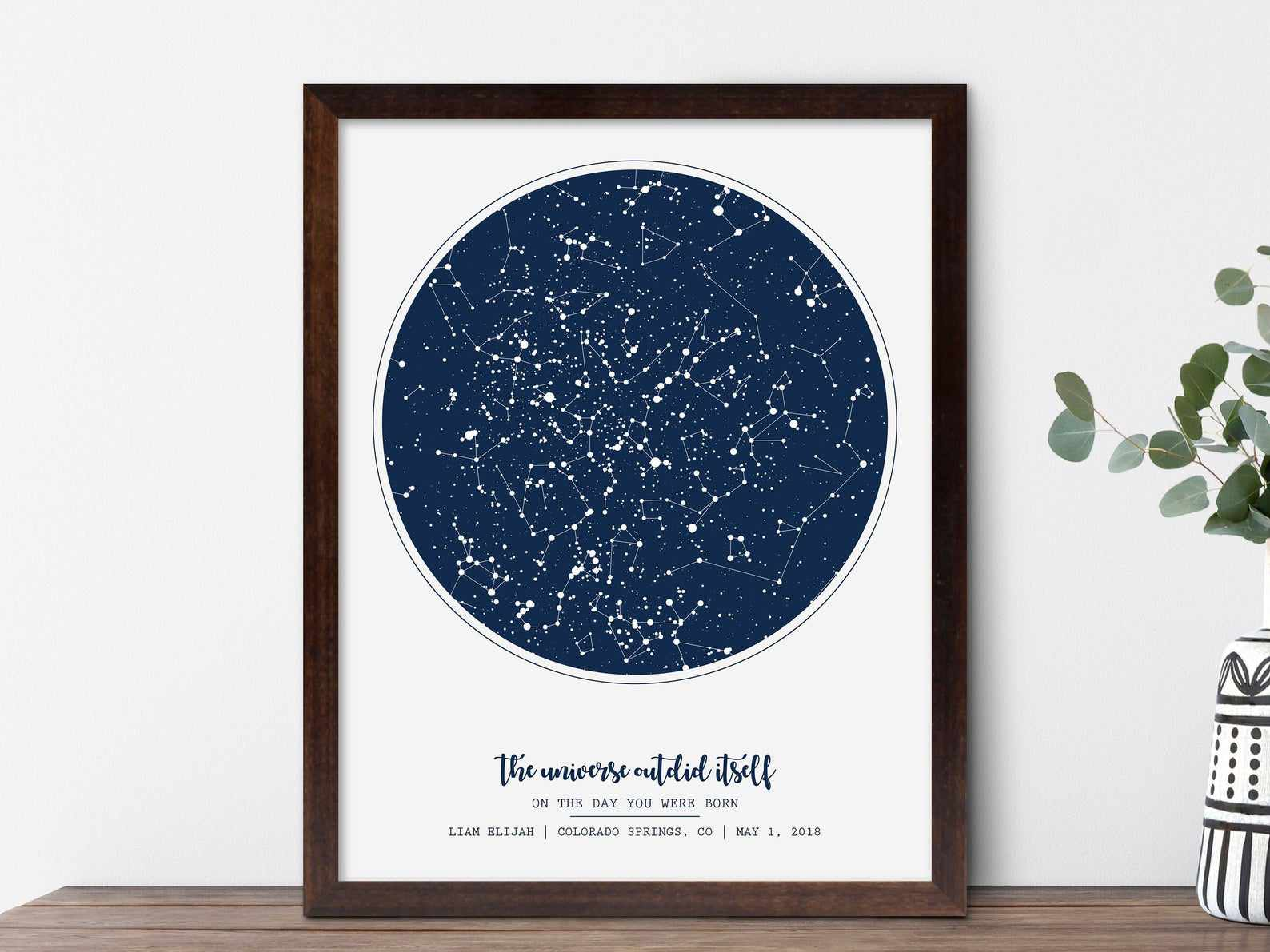 On the Day You Were Born Print