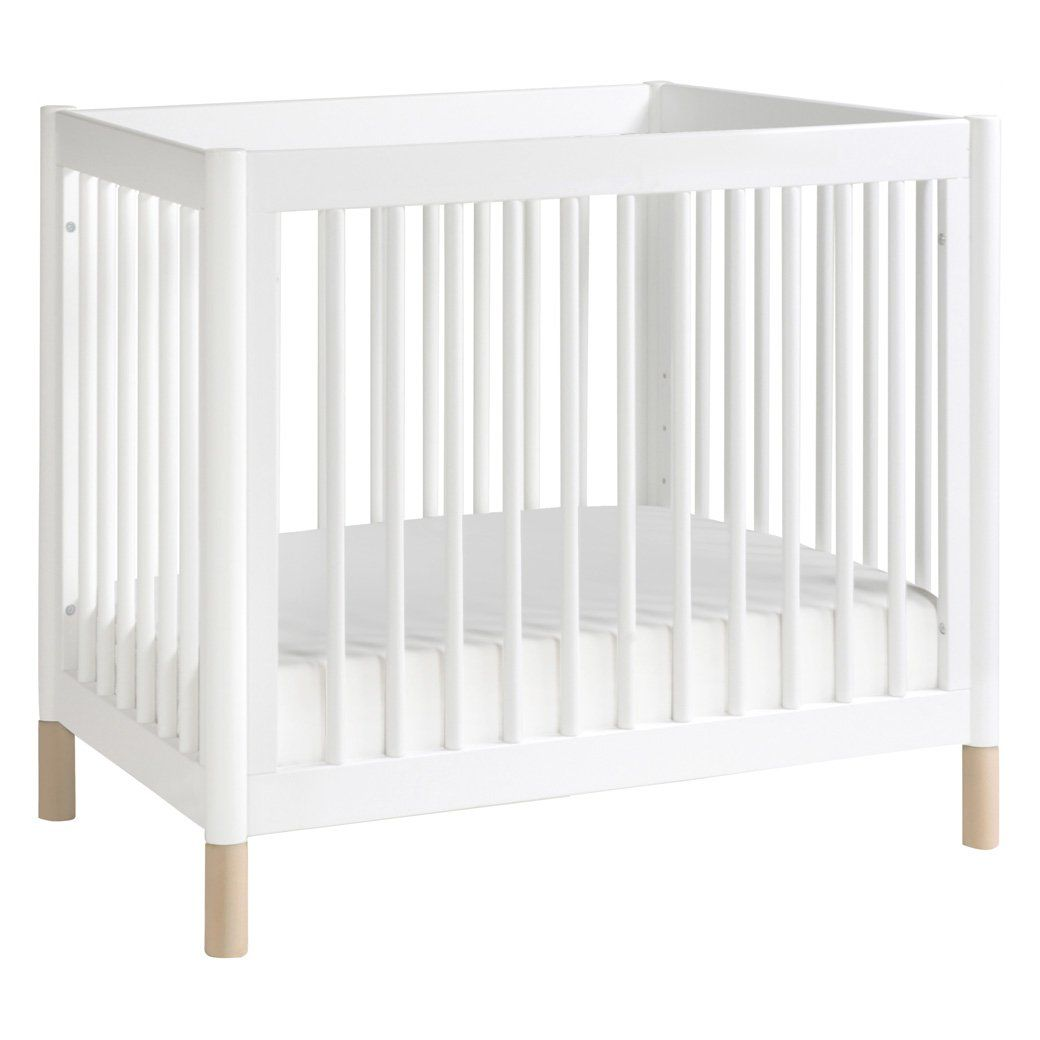 babyletto white mini crib