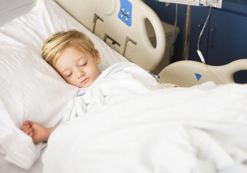Child Recovering in the Hospital