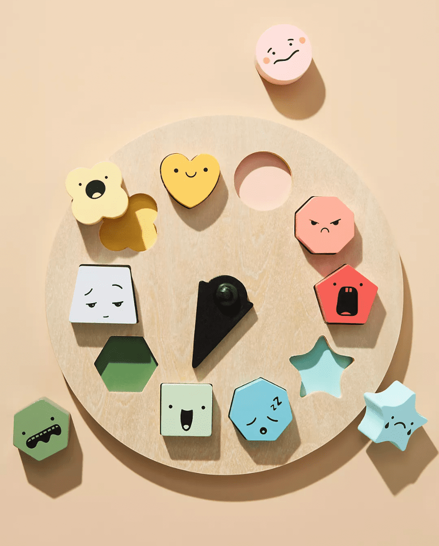 Anthropologie Shape of Emotions Toy Set