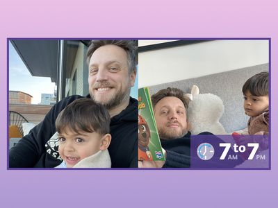 Ariel Foxman and family