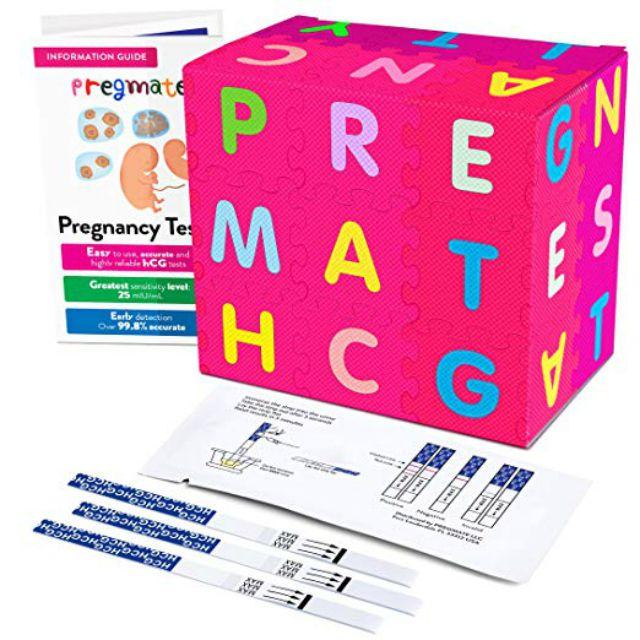PREGMATE 40 Pregnancy (HCG) Urine Test Strips