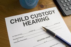 Child custody hearing